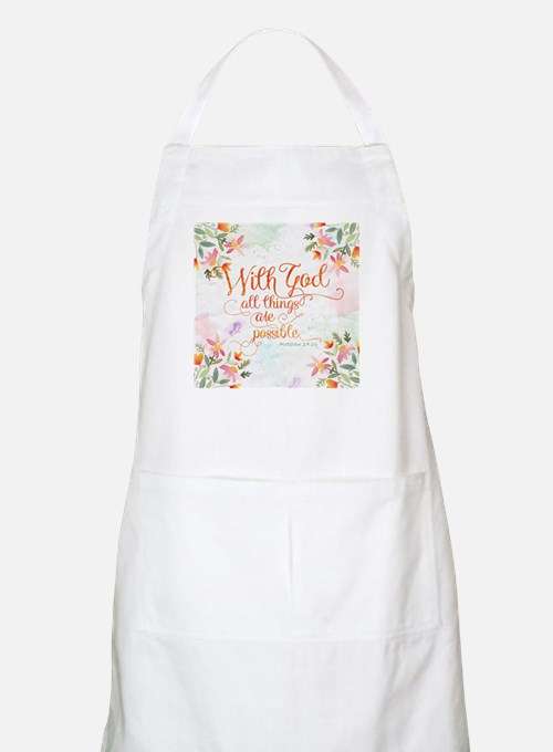 With God Apron