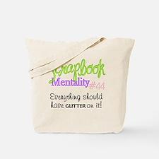 Scrapbook Mentality #44 Tote Bag