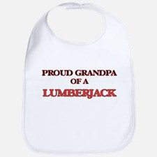 Proud Grandpa of a Lumberjack Bib