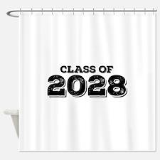 Class of 2028 Shower Curtain