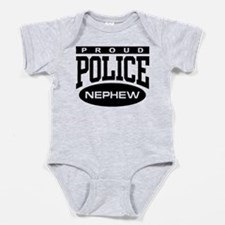 Cute Officer Baby Bodysuit