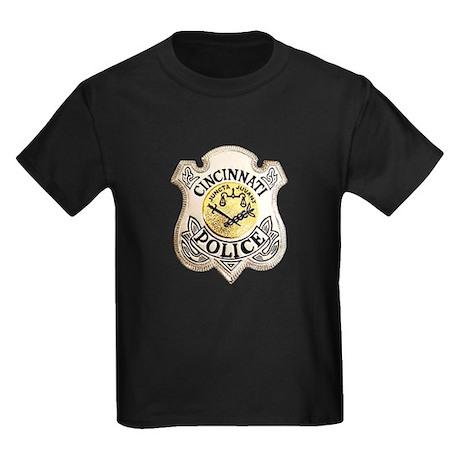 Cincinnati Police Kids Dark T-Shirt