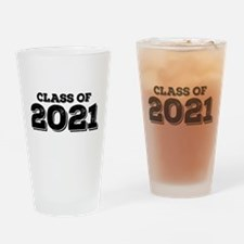 Class of 2021 Drinking Glass