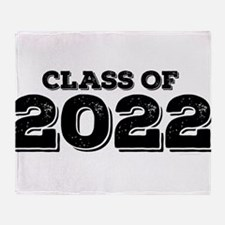 Class of 2022 Throw Blanket