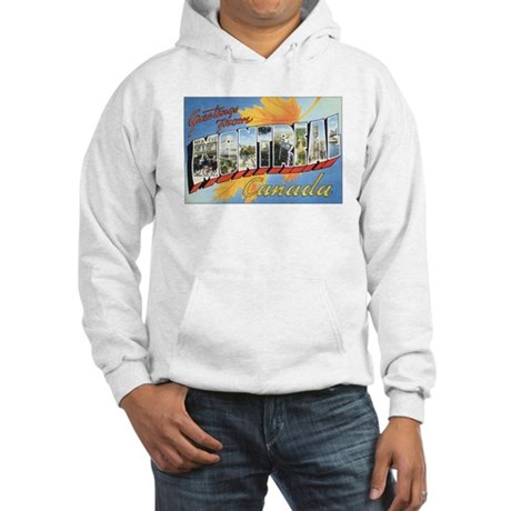 Montreal Postcard Hooded Sweatshirt