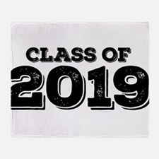 Class of 2019 Throw Blanket