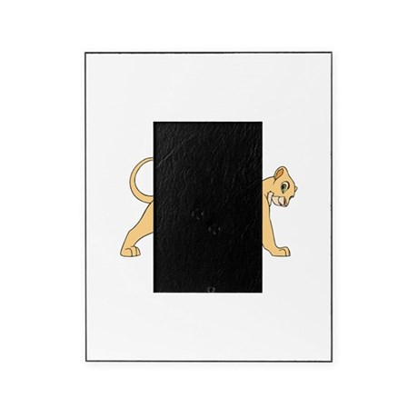 the lion king lioness picture frame by admin cp132411261. Black Bedroom Furniture Sets. Home Design Ideas