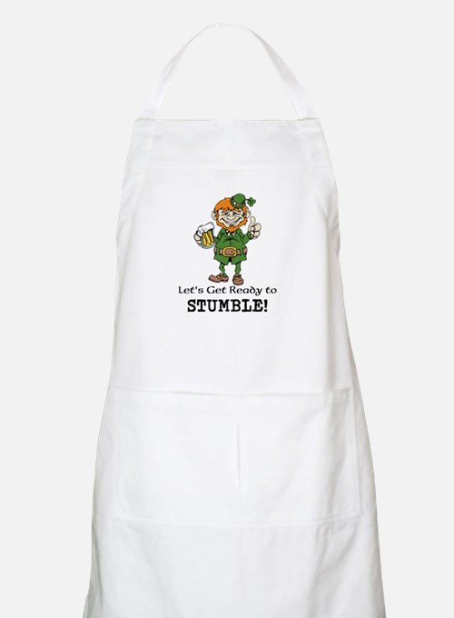 Lets Get Ready to Stumble Apron