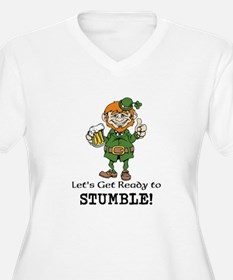 Lets Get Ready to Stumble Plus Size T-Shirt