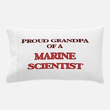 Proud Grandpa of a Marine Scientist Pillow Case