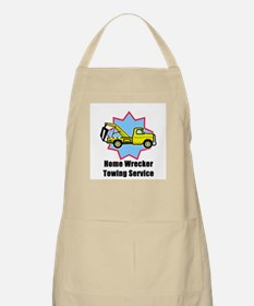 Home Wrecker Towing BBQ Apron