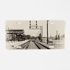 Salisbury Depot Aluminum License Plate