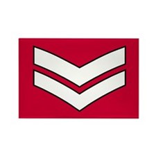 Lance Corporal<BR> Rectangle Magnet 1