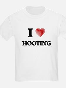 I love Hooting T-Shirt