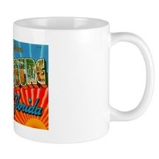 St. Petersburg Postcard Mug