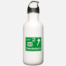 NJTP Logo-free Exit 2 Sports Water Bottle
