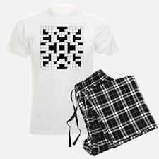 Crossword Pattern Decorative Pajamas