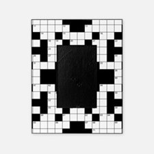 Crossword Pattern Decorative Picture Frame