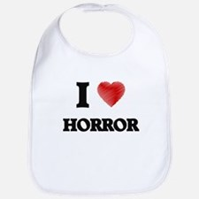 I love Horror Bib