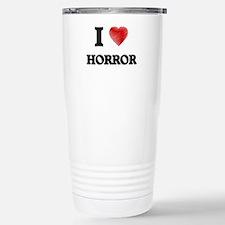 I love Horror Travel Mug