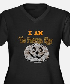 Jack the Pumpkin King Women's Plus Size V-Neck Dar