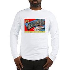 St. Petersburg Postcard Long Sleeve T-Shirt