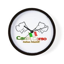 Cane Corso 2H Wall Clock
