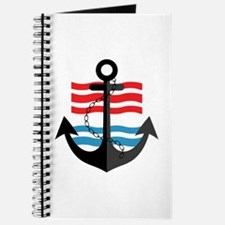 Nautical Anchor Trendy Summer Design Journal