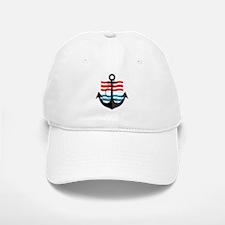 Nautical Anchor Trendy Summer Design Baseball Baseball Cap