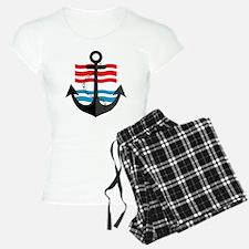 Nautical Anchor Trendy Summ pajamas