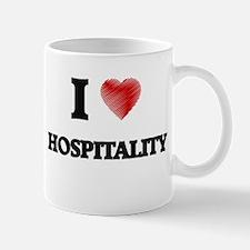 I love Hospitality Mugs