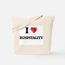 I love Hospitality Tote Bag
