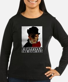 i survived the eightees Long Sleeve T-Shirt