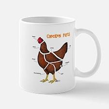 Chicken Parts Mugs
