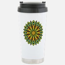 Psychedelic Mandala 004 A Travel Mug
