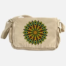 Psychedelic Mandala 004 A Messenger Bag