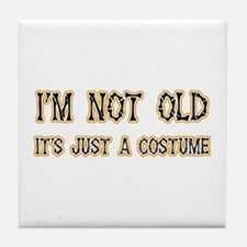Funny Old Costume Tile Coaster