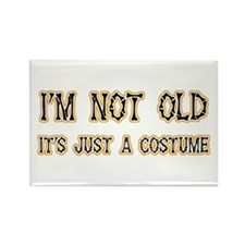 Funny Old Costume Rectangle Magnet