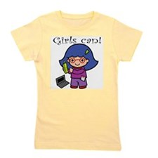 Unique Girls can Girl's Tee
