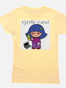 Unique Geek girls rule Girl's Tee