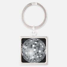 Cute Mirrors Square Keychain