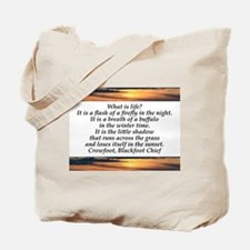 What is Life Tote Bag