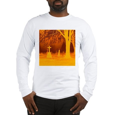 Halloween Grave Long Sleeve T-Shirt