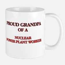 Proud Grandpa of a Nuclear Power Plant Worker Mugs