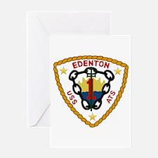 USS Edenton (ATS 1) Greeting Card