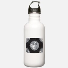 silver disco ball Water Bottle