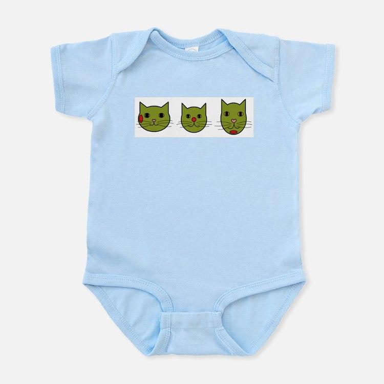 Olive Kitties Body Suit