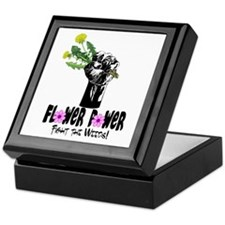 Fight the Weeds Keepsake Box