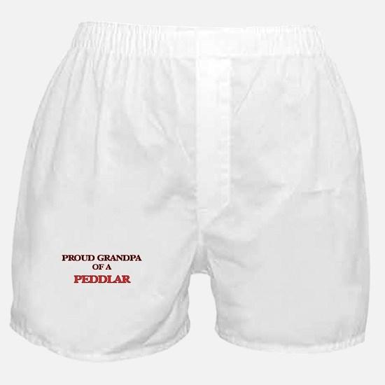 Proud Grandpa of a Peddlar Boxer Shorts