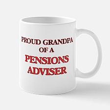 Proud Grandpa of a Pensions Adviser Mugs